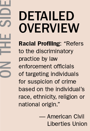 the negative effects of racial profiling By law, employers are not allowed to racially discriminate - but the data show that it's happening learn more from this kellogg professor's.