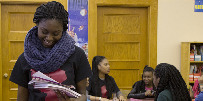 Danforth Middle School Launches the Dark Girls Project