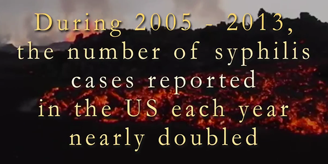 Number of Syphilis Cases Increases Significantly