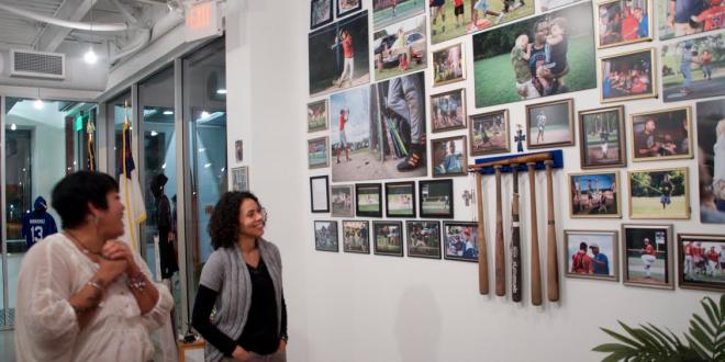 La Casita Exhibits Baseball Memorabilia