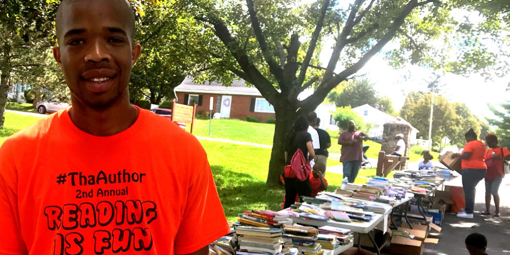 Block Party Give Books to All