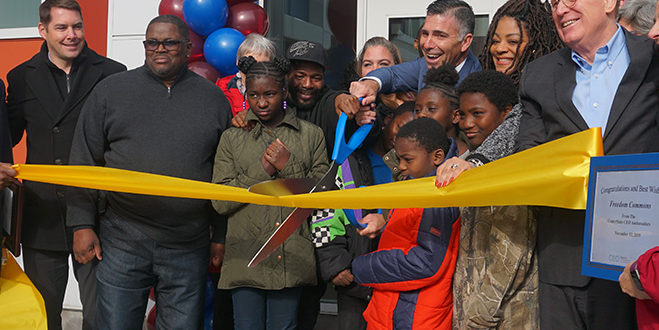Grand Opening of Freedom Commons