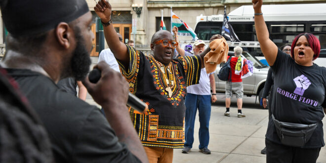 Residents March in Memory of George Floyd